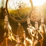 dream catcher in middle of image