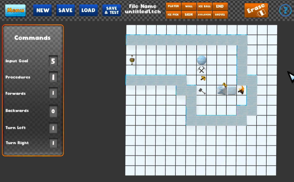 Nanili create a level interface