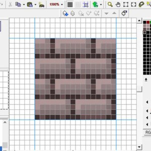 Pixel Art 3B: Advanced Tiles In GraphicsGale