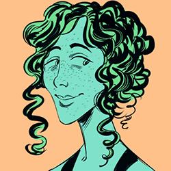 A portrait of Arielle Grimes