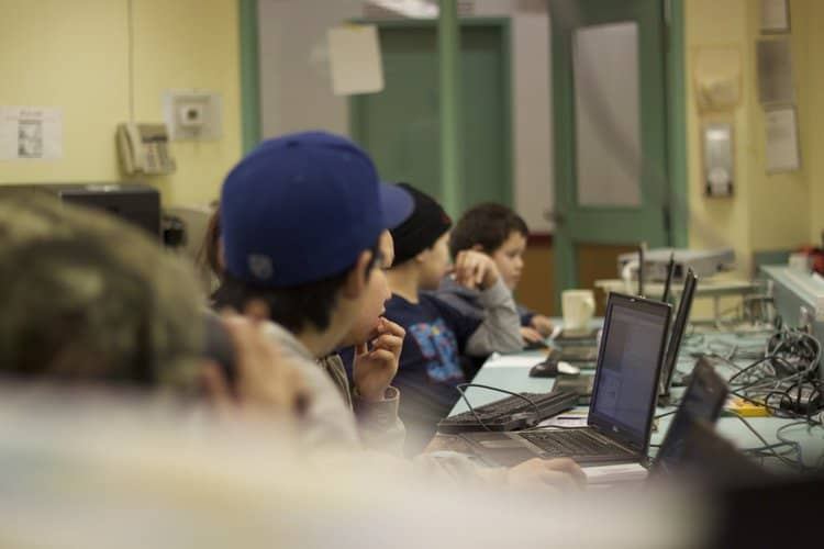 Computers. Literally Being Used in Schools. In Nunavut.