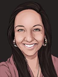 portrait of Courtney, teach team
