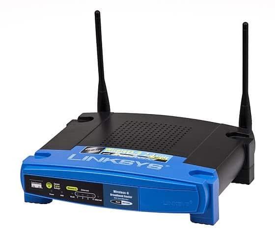 Wireless G-router.