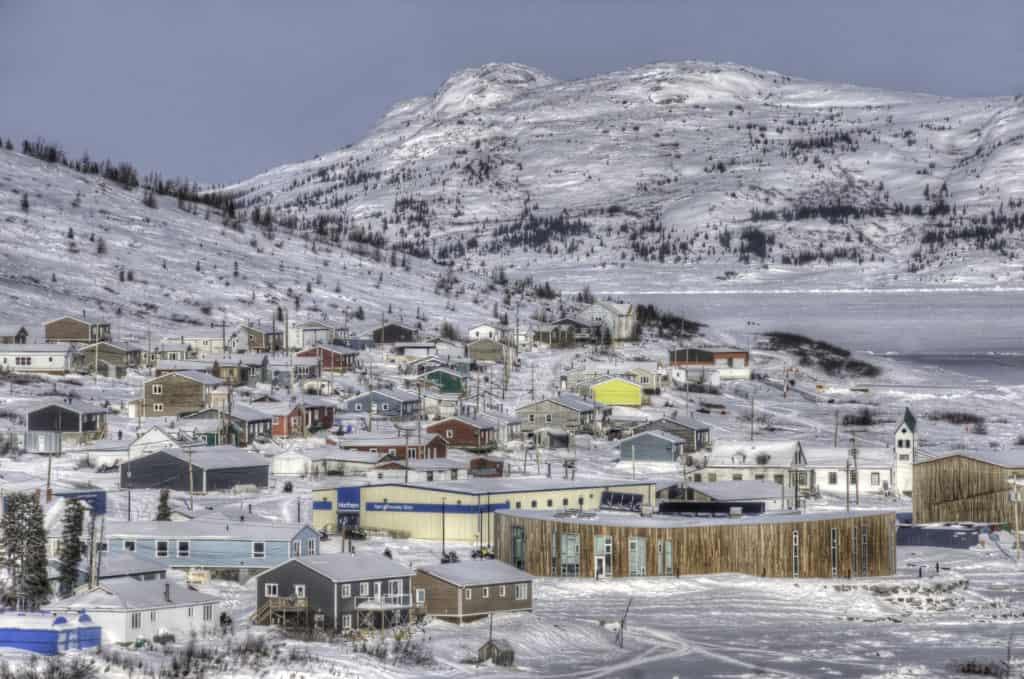 Overlooking Nain, Labrador.