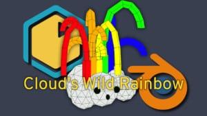 Blender Print-a-Piece Ep. 8: Cloud's Wild Rainbow