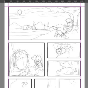 Krita for Comics Ep. 3: Clipping Groups & Alpha