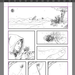 Krita for Comics Ep. 5: Penciling