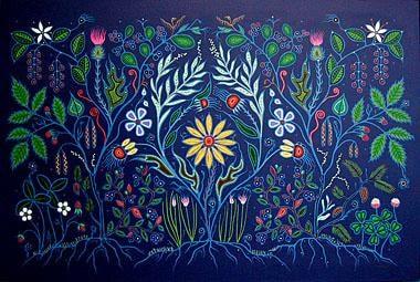 Artwork by Christi Belcourt.