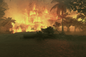 Image of fire burning
