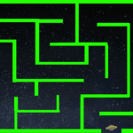 Lost in Space Maze Game for Beginner Game Designers