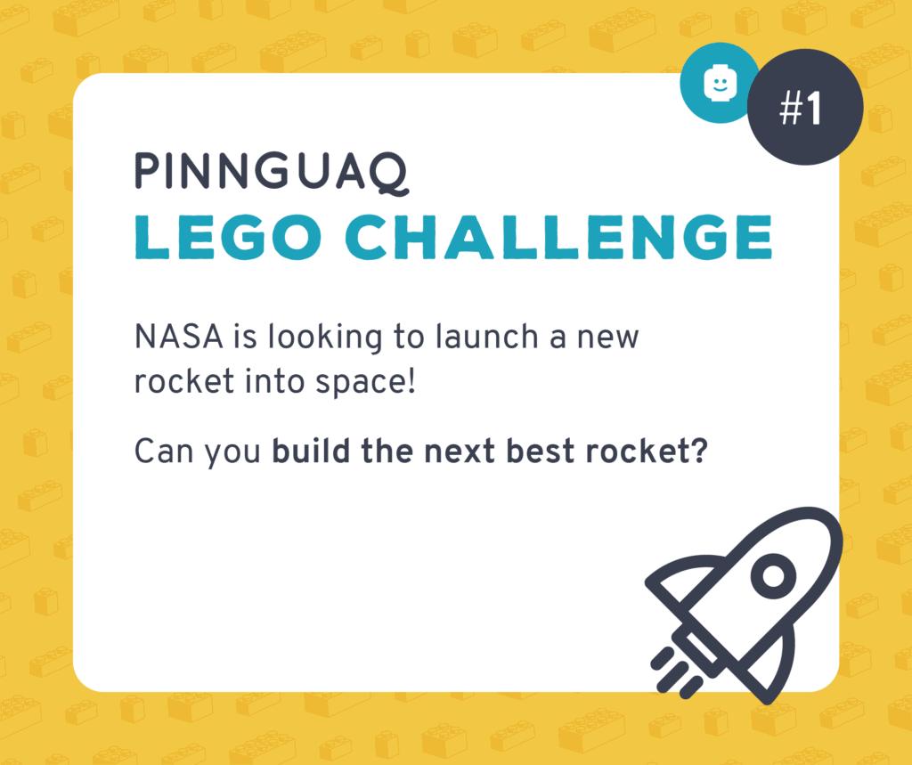 Pinnguaq's Lego Challenge #1 card.