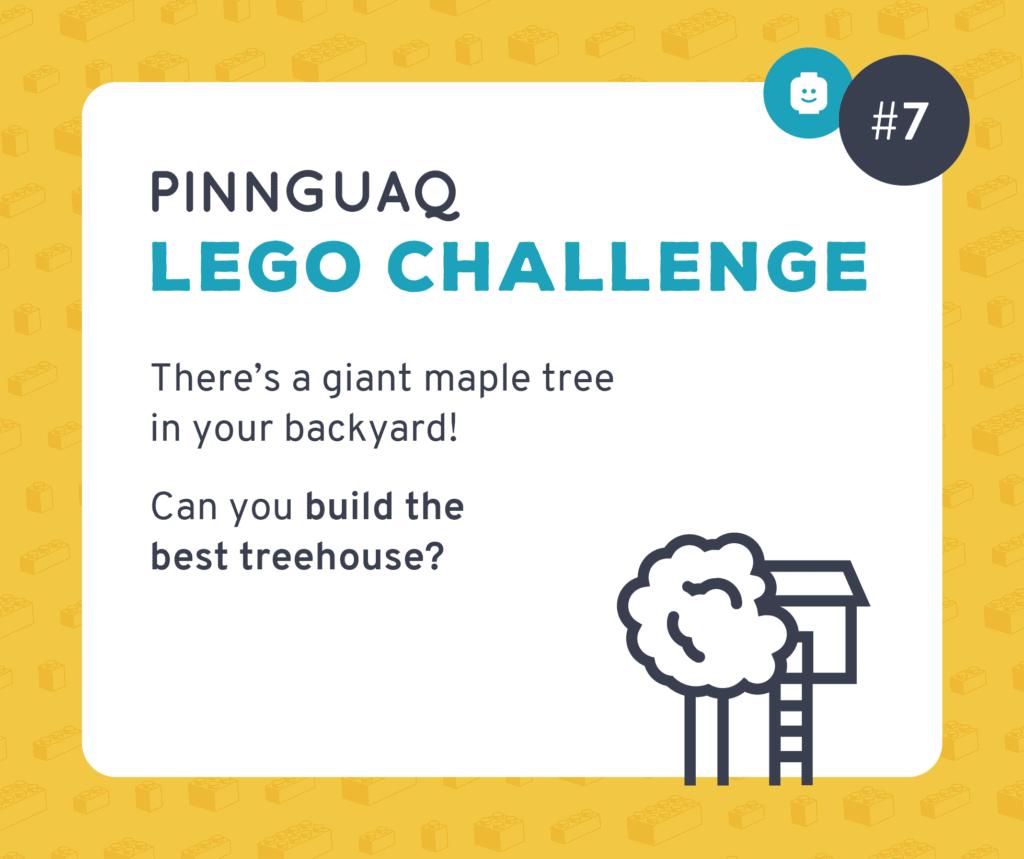 Pinnguaq's Lego Challenge #7 card.