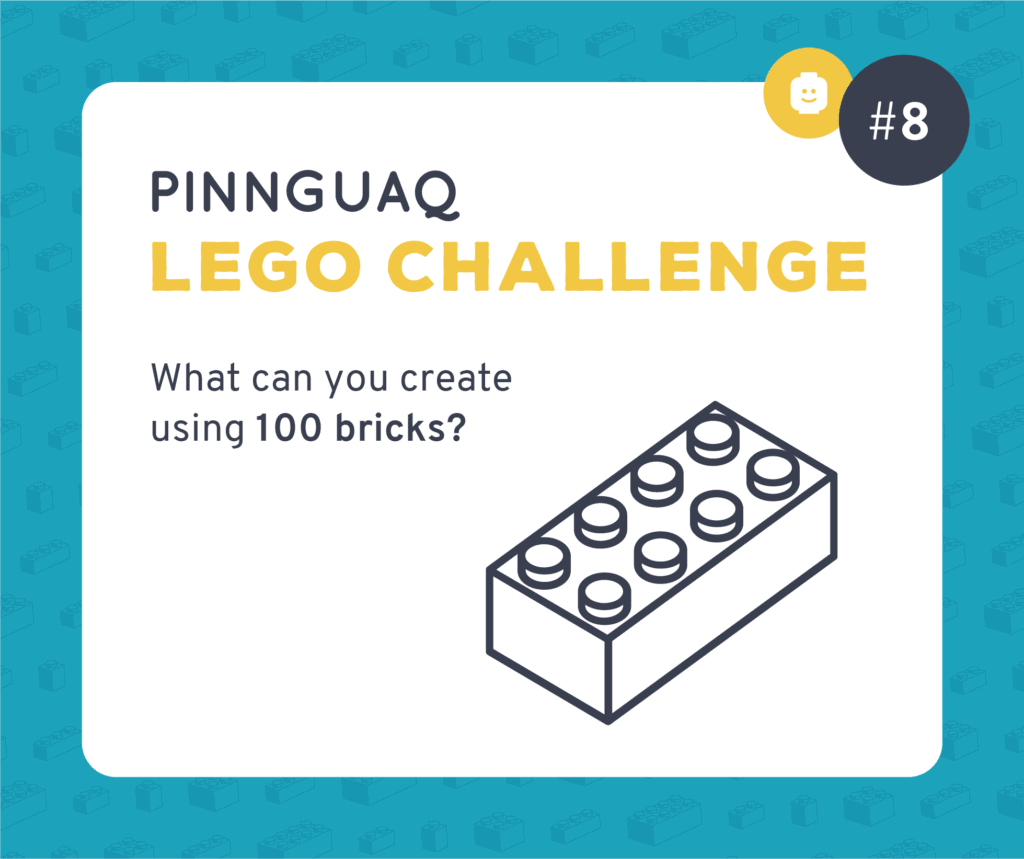 Pinnguaq's Lego Challenge #8 card.