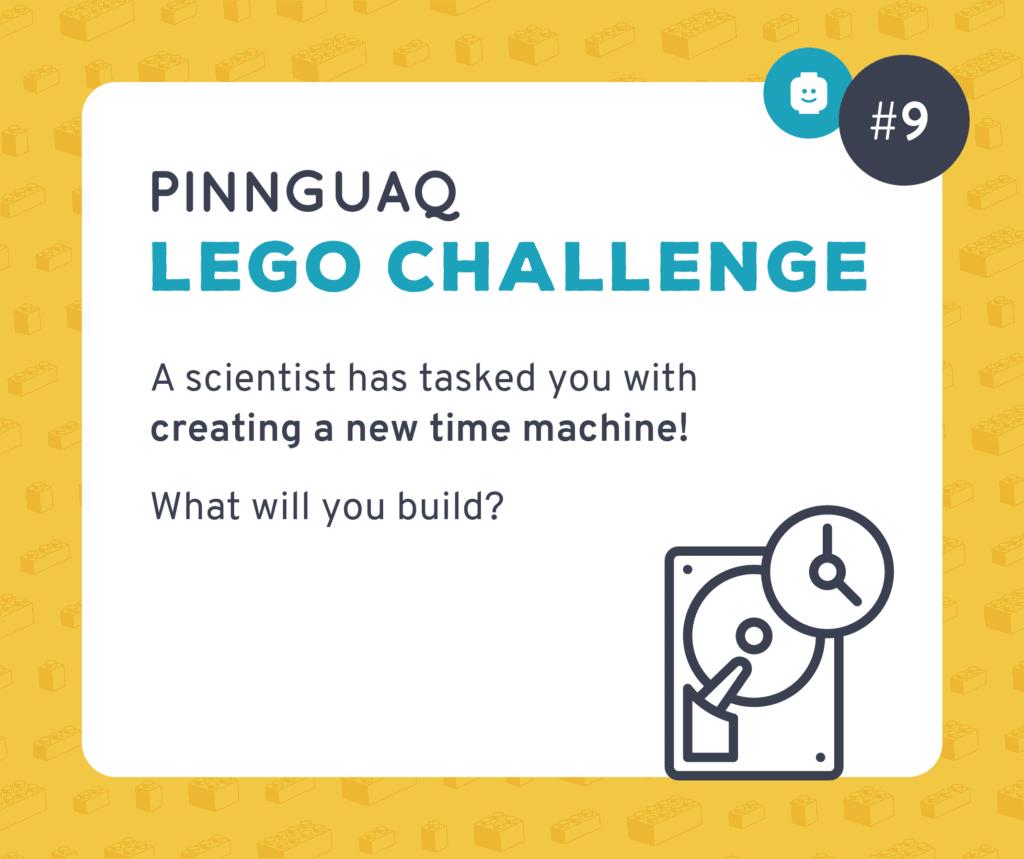 Pinnguaq's Lego Challenge #9 card.