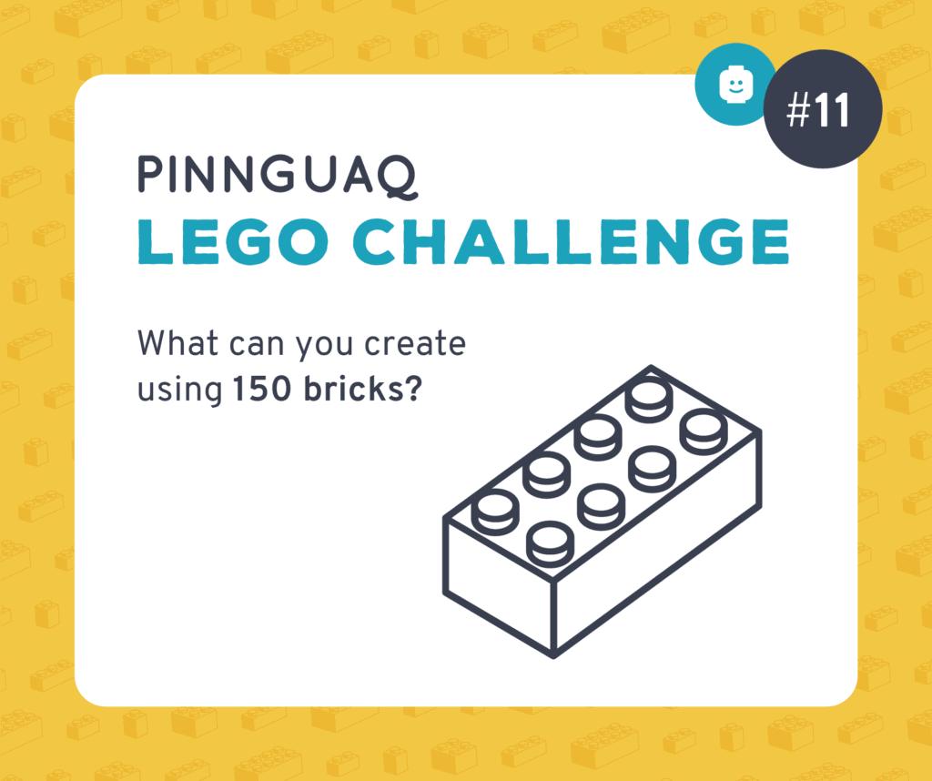 Pinnguaq's Lego Challenge #11 card.