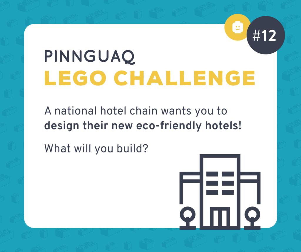 Pinnguaq's Lego Challenge #12 card.