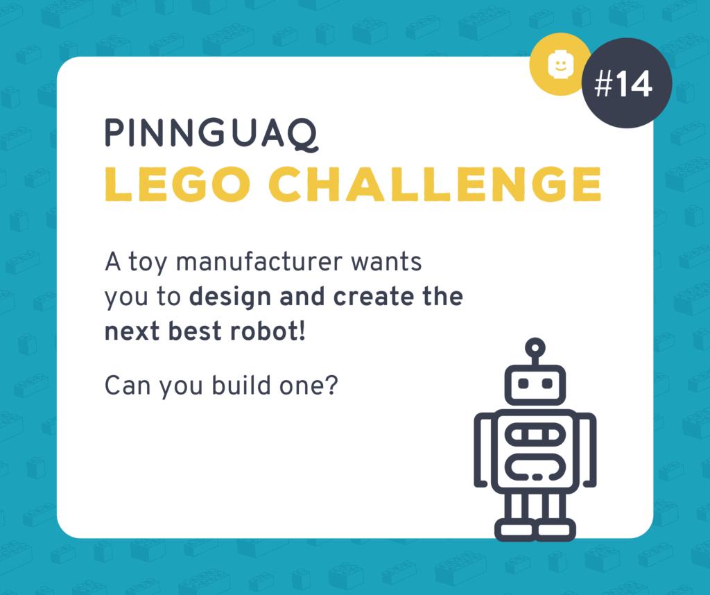 Pinnguaq's Lego Challenge #14 card.