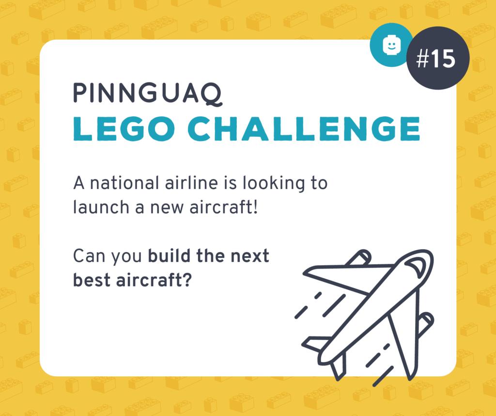 Pinnguaq's Lego Challenge #15 card.