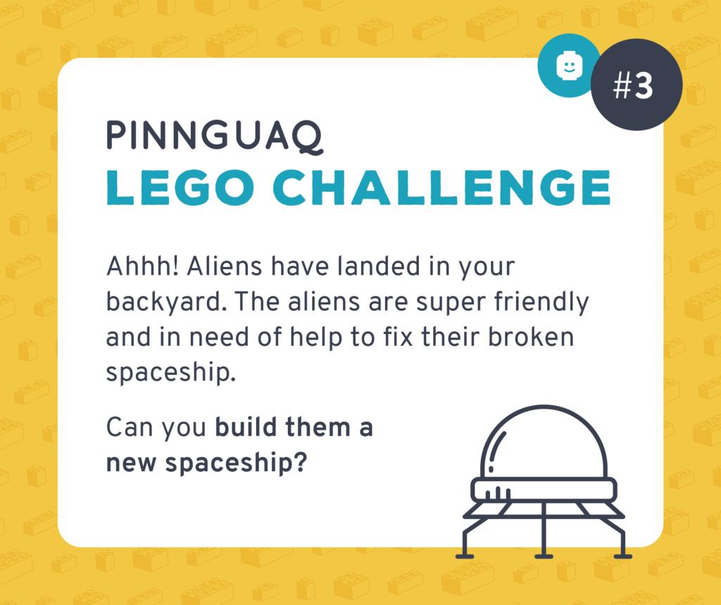 Pinnguaq's K–3 Lego Challenge #3 card.