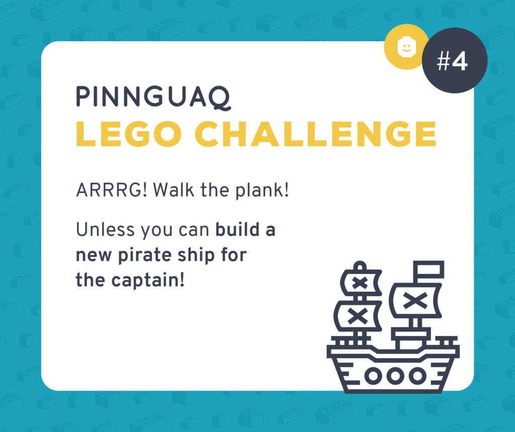 Pinnguaq's K–3 Lego Challenge #4 card.