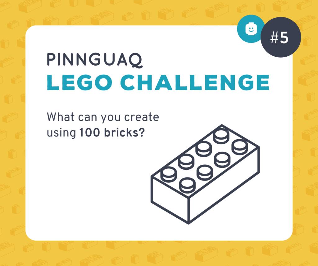 Pinnguaq's K–3 Lego Challenge #5 card.