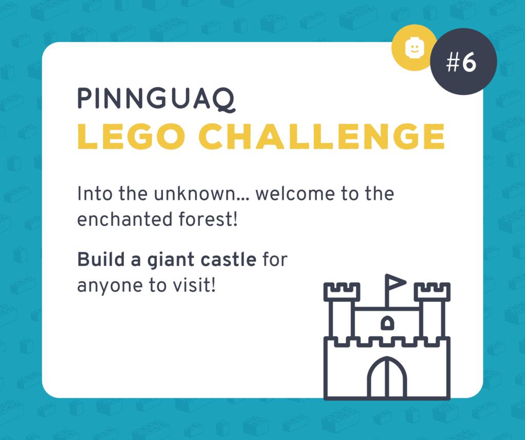 Pinnguaq's K–3 Lego Challenge #6 card.