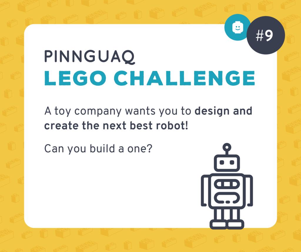 Pinnguaq's K–3 Lego Challenge #9 card.