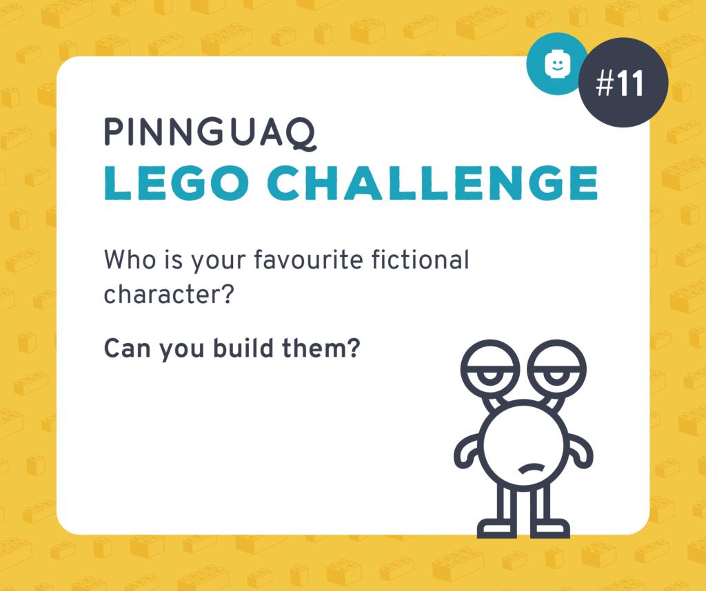 Pinnguaq's K–3 Lego Challenge #11 card.