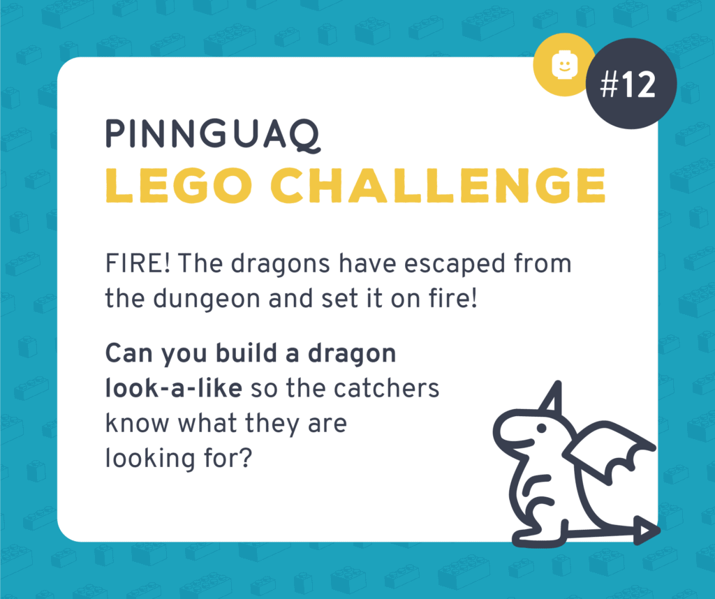 Pinnguaq's K–3 Lego Challenge #12 card.