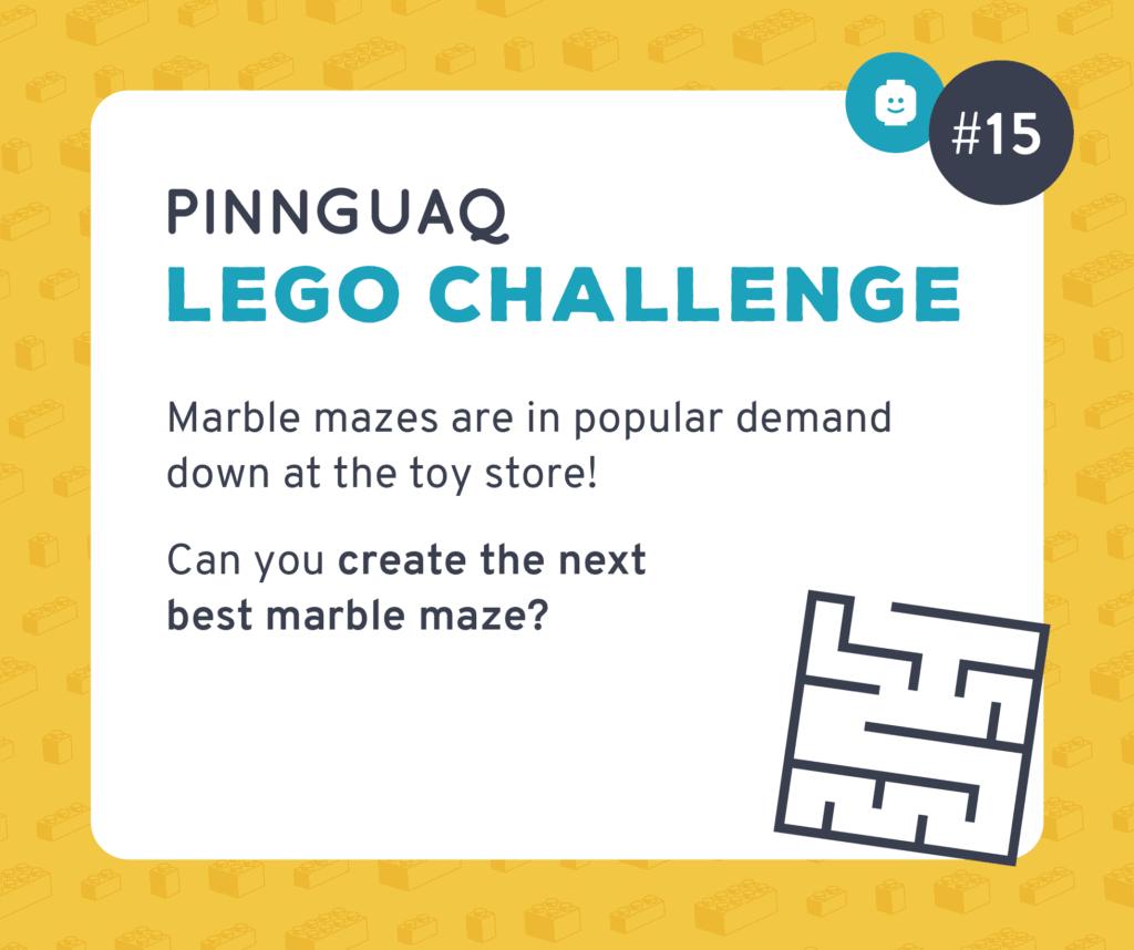 Pinnguaq's K–3 Lego Challenge #15 card.