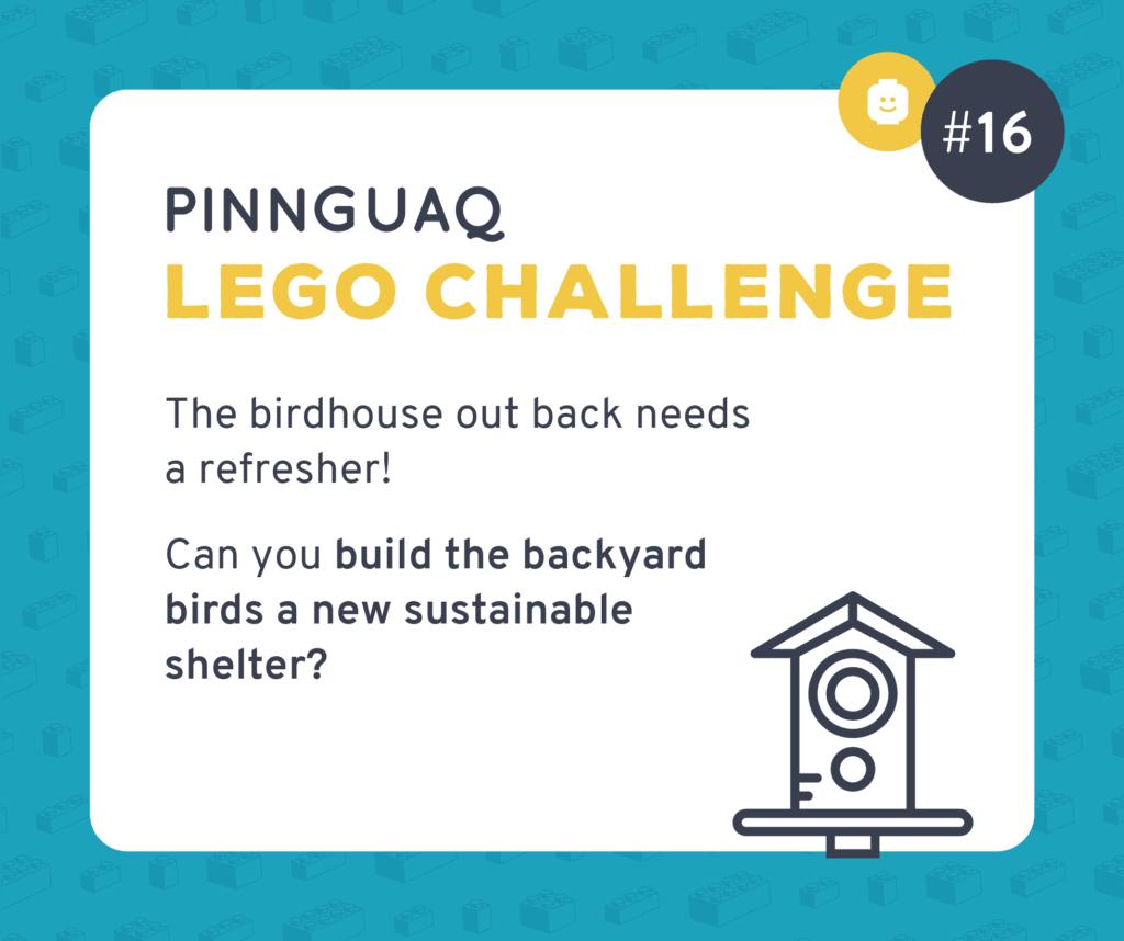 Pinnguaq's K–3 Lego Challenge #16 card.