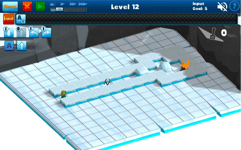 A preview of Nanili level 12.