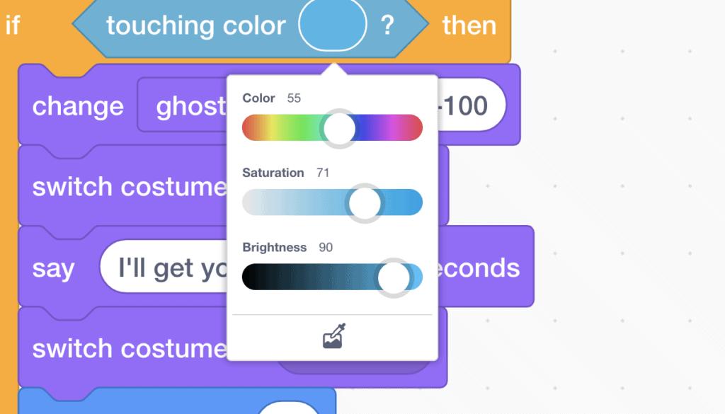colour slider in scratch