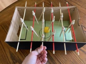 Construct A Foosball Game
