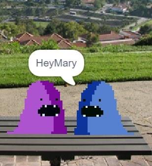 Hey Mary answer.