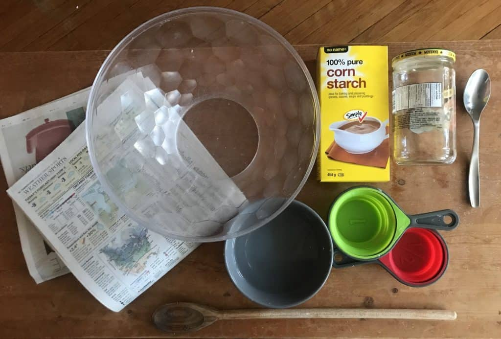 materials needed for oobleck