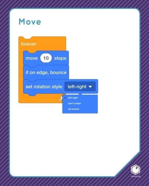 Scratch 'Move' card.