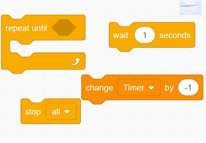 Code blocks separated.