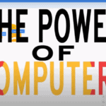 """A graphic reading """"The Power of Computers."""""""