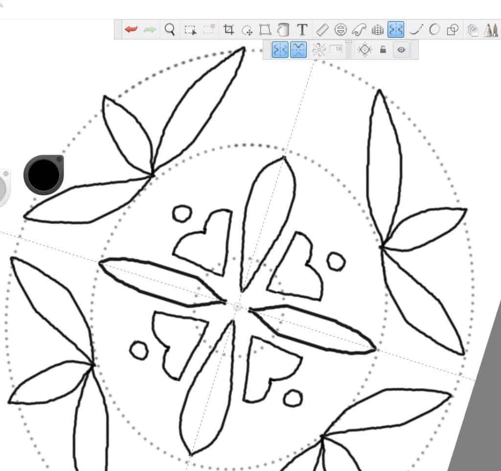 A third leaf is added.