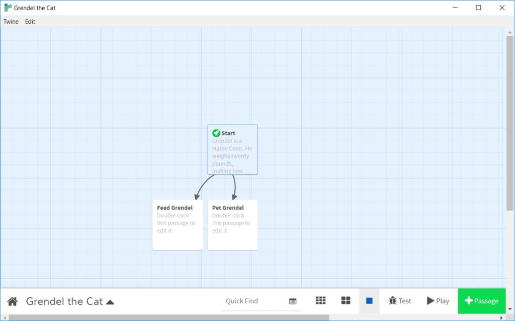 Scratch interface.