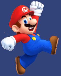 A Mario sprite.