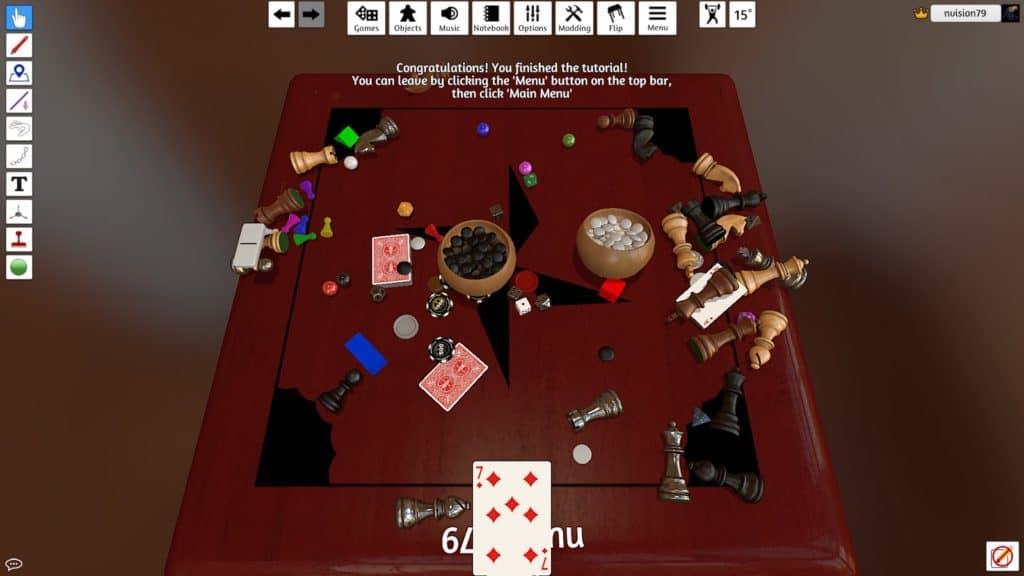 Game board in Tabletop Simulator