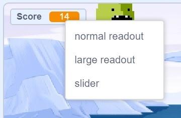 Critter chorus game, score is displayed.