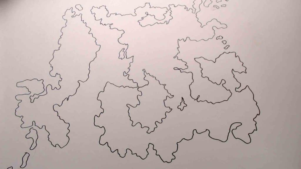 Map traced.