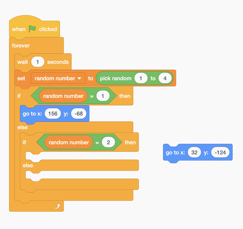 Scratch code blocks stacked together.