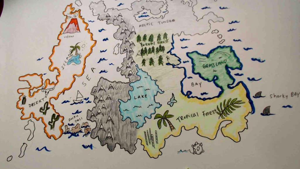 Finished map.