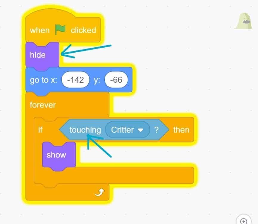 Scratch code