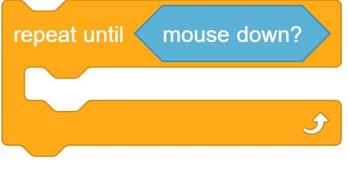 Repeat until mouse down block.
