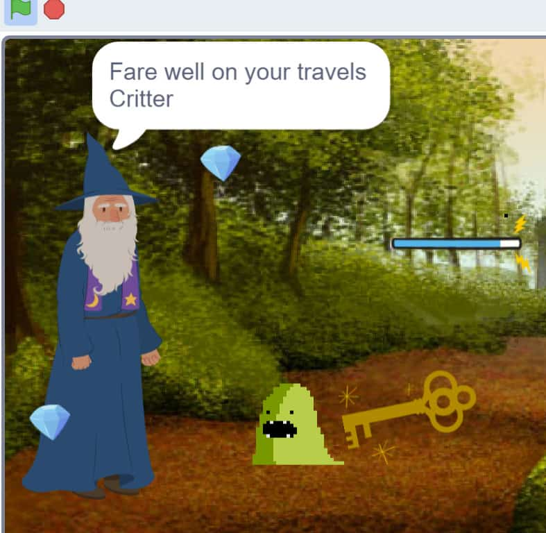 Critter Chorus game.